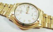 Seiko Gold Tone Base Metal 7M22-8A5L Sample Watch NON-WORKING #3