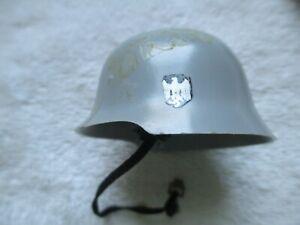 1960 G I JOE VINTAGE GERMAIN HELMET WITH STRAP