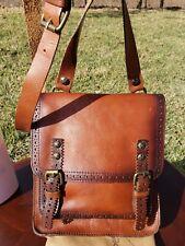 New ListingPatricia Nash Italian Leather Messenger Crossbody, Discontinued Style