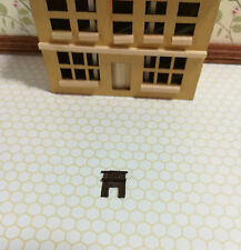 Dollhouse Miniature 1:144 Scale Fireplace Micro Minis Furniture Metal