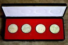 Germany 1972 Olympic 10 Marks Coin Box Set of Four