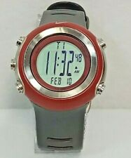Men's Nike Oregon Series Red & Gray Digital Super Watch WA0024  - New Battery
