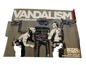 Banksy Basquiat Beyond The Streets Vandalism As Modern Art