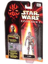 """STAR WARS Phantom Menace C-3PO without Armour (Phase 1) 4"""" Action Figure SEALED"""