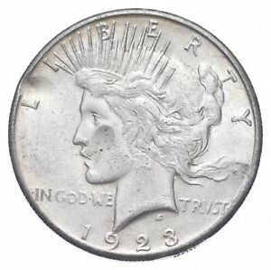 1923-S Peace Silver Dollar - US Coin *372