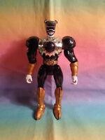 2001 Bandai Power Rangers Wild Force Lunar Wolf Battle Armor Action Figure