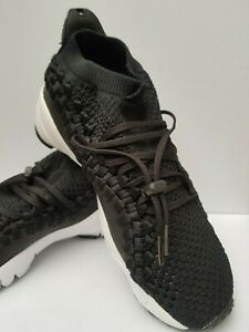 Nike Air Woven Flyknit Trainers Mens US6 Footscape Running Ao5417 001 - No Box