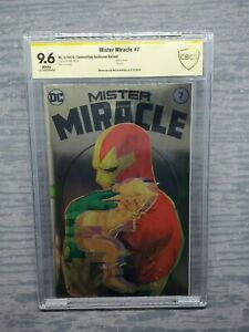 CBCS Graded 9.6 Mister Miracle #7 DC Comics 2018 Signed by Mitch Gerads