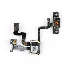 Proximity Sensor + Power Button Flex Cable + Earpiece Speaker For iPhone 4S