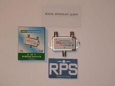 High Quality 2x1 DiSEqc Auto Switch FTA Receiver