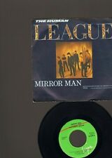 """HUMAN LEAGUE Mirror Man  7"""" SINGLE 1982 You Remind Me of Gold"""