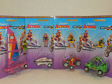 Britians wind surfer , jet ski, dune buggy and cross country motor bike Mint BP