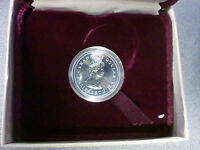 1982 PROOF CONSTITUTION DOLLAR 1867-1982 MADE OF NICKEL CANADA RED VELVET CASE