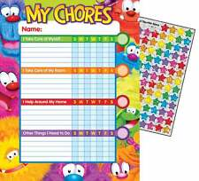 25 Furry Friends Progress Reward behavior chore charts + 100 Stickers