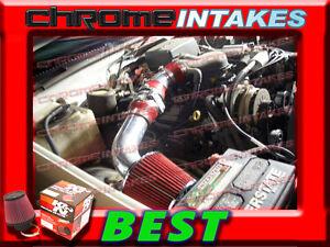 K&N+RED 96-98 CHEVY SILVERADO GMC SIERRA C/K C1500 K1500 4.3L V6 AIR INTAKE KIT