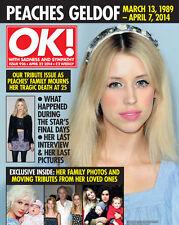 OK,Peaches Geldof,Dannii Minogue,Kimberley Walsh,Michelle Heaton,Kerry Katona