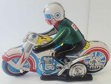 Motorrad 602  MS702  Blech  Made in China  Uhrwerkantrieb