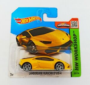 Hot Wheels 1/64 3 inch Lamborghini Huracan LP 610/4 ('15 HW New Models)