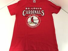 Vintage 1988 St. Louis Cardinals T-shirt MLB Baseball Red Size Large