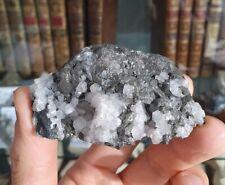 Tétraédrite, Mine d'Alzen, Alzen, Saint-Girons, Ariège (09), Occitanie, France
