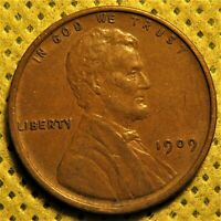 Uncirculated 1909 Lincoln Wheat Cent.