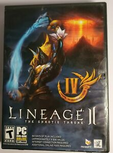 Lineage II: The Chaotic Throne PC Game DVD