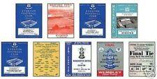 Away Teams C-E Everton FA Cup Football Programmes