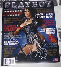 Chyna Signed WWE Playboy 16x20 Photo PSA/DNA COA January 2002 Magazine Poster