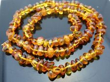 Natural Genuine Baltic Amber Nugget Freeform Untreated Gemstone Beads Std 16""