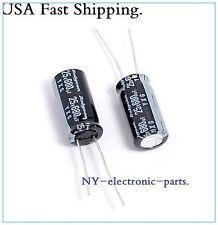 (40PCS) 680UF 25V RUBYCON RADIAL ELECTROLYTIC CAPACITORS.10X20MM.YXG 25v680uf