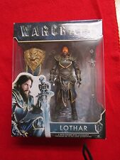 "World Of Warcraft Lothar 6"" Action Figure With Sword And Shield Legendary New"