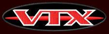 "HONDA VTX OVAL EMBROIDERED PATCH ~4-3/4""x 1-3/8"" CRUISER MOTORCYCLE CUSTOM BIKE"