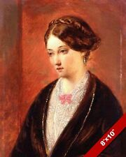 FLORENCE NIGHTENGALE PORTRAIT PAINTING REAL CANVASART PRINT
