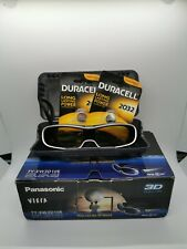 Panasonic Viera TY-EW3D10 E 3D Glasses TY-EW3D10 Active Full HD