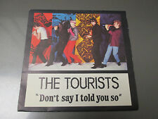 1980 THE TOURISTS Don't Say I Told You So 45 EX/EX RCA French TOUR2  Annie Lenno