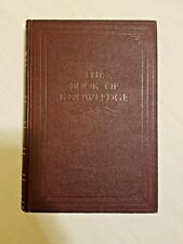 """The Book Of Knowledge Children""""s Encyclopedia 1956 Vol. 8 Magic Carpet Edition"""