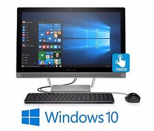 "HP 24"" All-in-one Touchscreen Desktop Computer Intel Core i5 7th Gen 12GB 1TB HD"