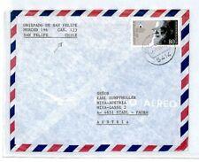 CM240 CHILE MISSIONARY MAIL Forwarded GERMANY *SAN FELIPE* Cover MIVA Austria