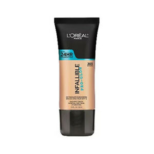 L'OREAL Infallible Pro-Glow Foundation - Nude Beige (Free Ship)