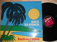 Earth And Stone Philip Fraser Gaylads - Back To Africa LP Different GET A105