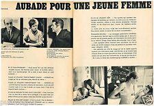 A- Publicité Advertising 1968  (2 pages) La Lingerie Aubade
