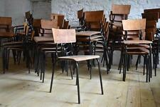 1 of 18 Stuhl Holz Antik Alt Bauhaus Chair Vintage Shabby Loft Fabrik Stühle