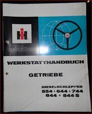 IHC Schlepper 554 , 644 , 744 , 844 , 844 S Werkstatthandbuch Getriebe