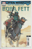 STAR WARS AGE OF REBELLION BOBA FETT #1 (2nd PRINT) VARIANT Marvel 2019 NM- NM