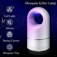 USB Mosquito Killer Lamp Pest Control Zapper Insect Trap Silent LED Night Light