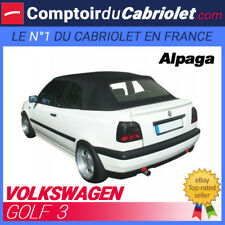 Capote Volkswagen Golf 3 cabriolet - Toile Alpaga Stayfast®