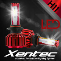 XENTEC LED HID Headlight Conversion kit H11 6000K for Nissan Rogue 2008-2016