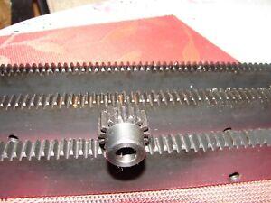 """CNC Stepper Motor  Mech Rack & Gear 72""""  Rack (3x24""""pcs) 1/2"""" 20T Pinion Gear"""