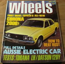 WHEELS May 1974.Holden LH Torana.Lancia BETA. 2 CV.120 Y. D-type JAGUAR