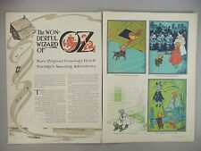 Wizard of Oz, W.W. Denslow Illustrations 8-Page Life MAGAZINE ARTICLE - 1953